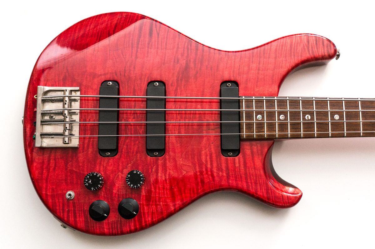 1989 Paul Reed Smith / PRS Set Neck 4 String Bass Guitar ...