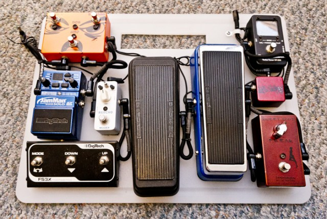 Finished Pedalboard